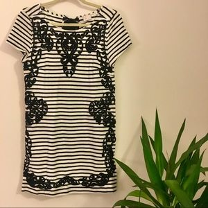 Anthropologie striped dress - Small